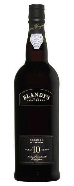 Blandy Sercial 10 year old dry Madeira