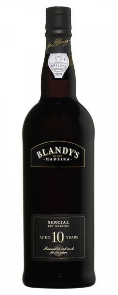 Blandy Sercial 10 Jahre old dry Madeira trocken
