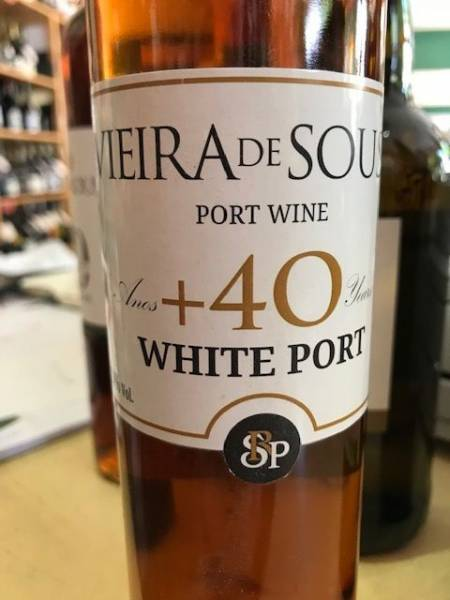Vieira de Sousa White Port 40 Years