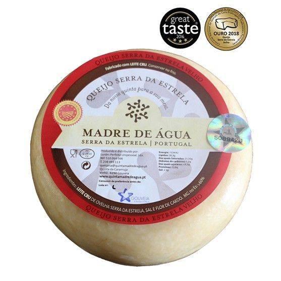 Schafskäse DOP Serra de Estrella gereift und hart ca. 832 gr