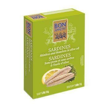 Sardinen ohne Haut u Gräten in Olivenöl 105gr