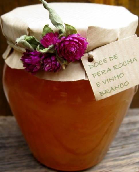 Birne mit Weisswein Konfitüre 230gr Glas