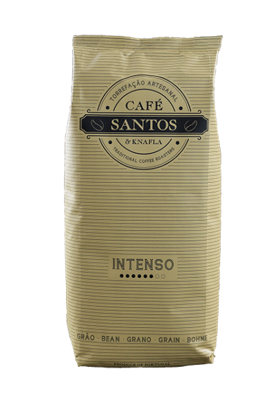 Cafe Santos Intenso Bohne Kaffee 250gr