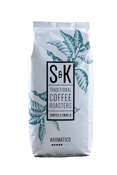 Santos & Knafla Aromatico ganze Bohne Kaffee 250gr