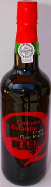 Estanho Ruby Port kleine 0,375L Flasche