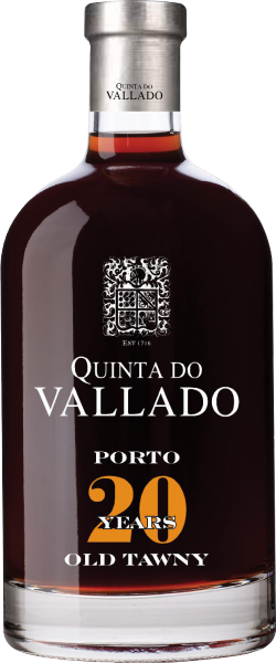 Vallado Tawny 20 Jahre Portwein 0,5L