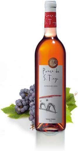 San Tiago rosé Guimaraes Vinho Verde 2017