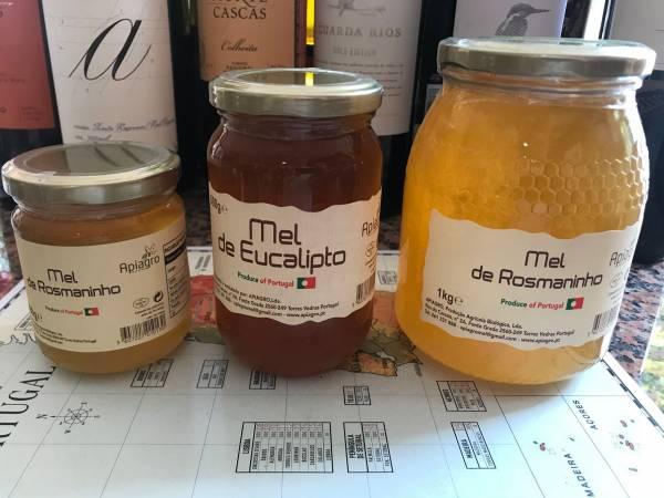 Rosmarin Honig Portugal 1Kg Glas