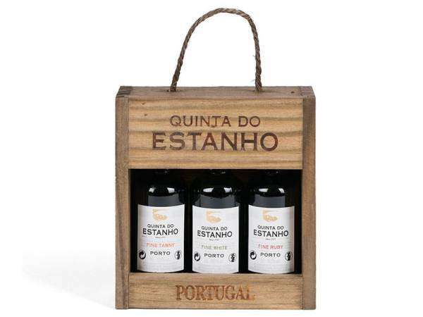 3er Miniaturpaket Portwein Estanho