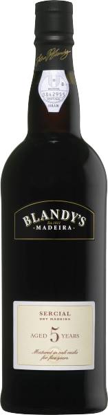 Blandy Sercial 5 year old dry Madeira
