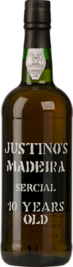 Justinos Sercial Madeira 10 Years