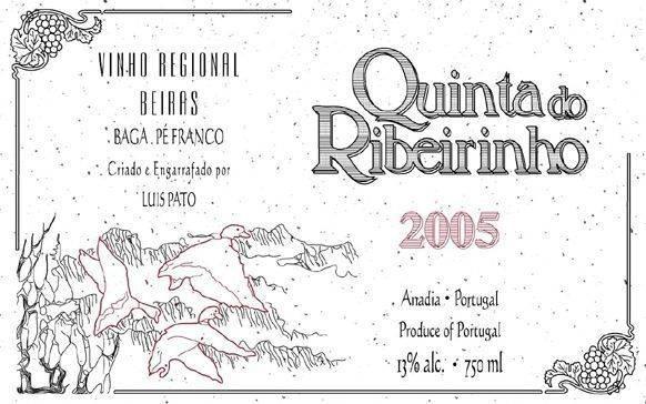 Luis Pato Quinta de Ribeirinho Pe Franco 2010