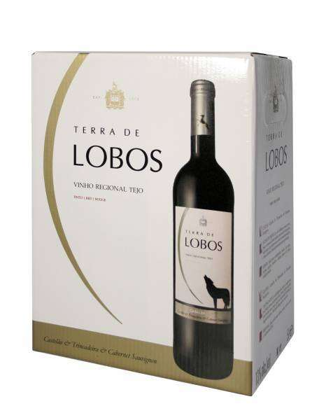 Casal Branco Lobos tinto 2016 5L Box