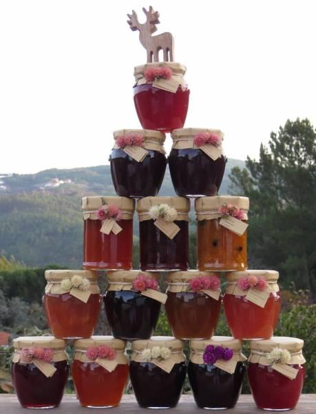 Rote Früchte Konfitüre 230gr Glas