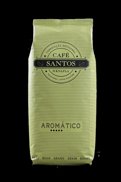 Cafe Santos Aromatico Bohne Kaffee 250gr