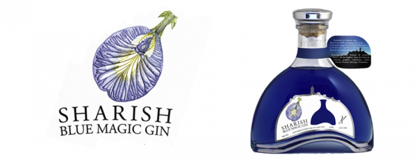 Sharish Gin Magic Blue 0.5 L Blue Magic