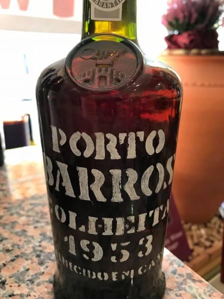 Barros 1953 Portwein