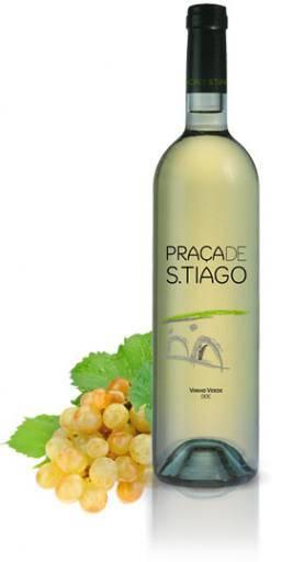 6er Paket San Tiago branco Cooperativa Guimaraes Vinho Verde 2016