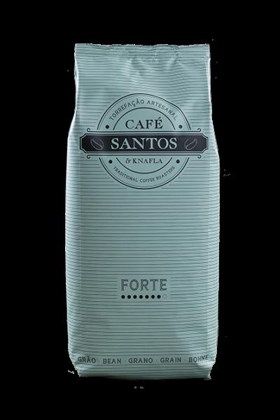 Cafe Santos Forte ganze Bohne Kaffee 1kg