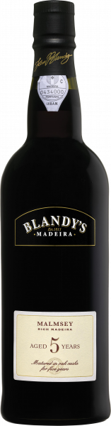 Blandy Malmsey 5 year old rich Madeira