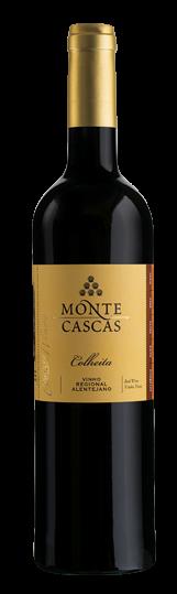Monte Cascas Alentejo Colheita Rotwein 2014