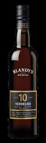 Blandy Verdelho 10 year old semi dry Madeira
