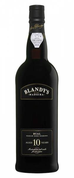 Blandy Bual 10 Jahre alter medium rich Madeira